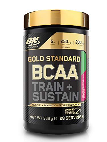 Optimum Nutrition Gold Standard BCAA Powder Branch Chain Amino Acids Supplement...