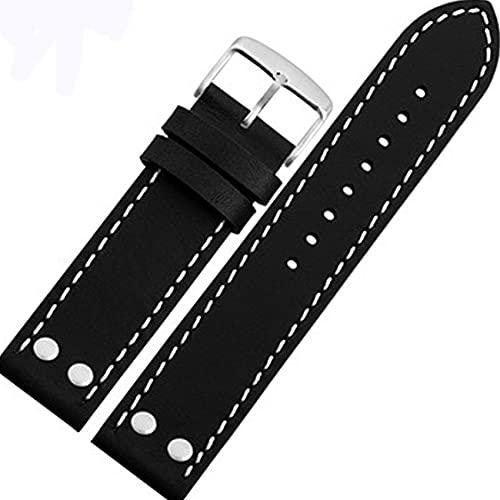 Chtom iWatch-Armband aus Gummi, kompatibel mit iWatch 38 mm, 40 mm, 42 mm, 44 mm, iWatch Serie 5, Serie 4, Serie 3 (Farbe: Schwarz/Gelb)