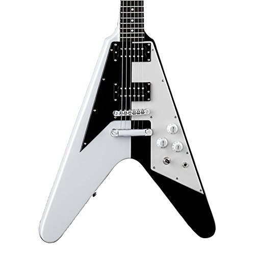 Cheap Dean Michael Schenker Signature Retro Electric Guitar Black/White Black Friday & Cyber Monday 2019