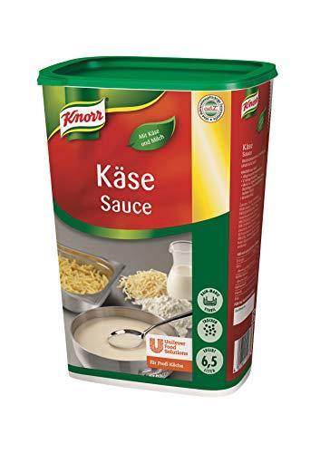 Knorr Käse Sauce (cremige Konsistenz, abgerundeter Käsegeschmack) 1er Pack (1 x 1kg)