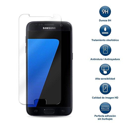 MovilCom® Protector Pantalla Movil Cristal Templado Protector de Pantalla para Samsung Galaxy...