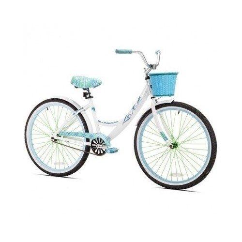 Kent 26' Women's, La Jolla Cruiser Bike, White