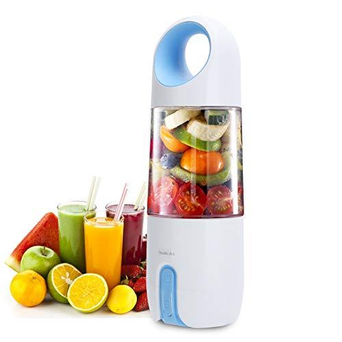 Elektromagnetische Kracht Inductie 480ml Draagbare Blender Blauwe Draagbare Mini Juicer Cup Vruchtensap Mixer voor Thuis