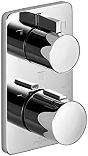 Villeroy & Boch concealed thermostat with three-way volume control 36427960 chrome