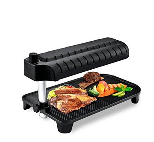 BBQER-A Barbecue Domestico Griglia A Infrarossi Cottura Multifunzione Barbecue Barbecue Con Proprio Bakeware, Senza Ruggine, Facile Pulire