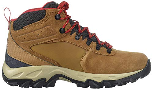 Columbia Men's Newton Ridge Plus Ii Suede Waterproof Boot, Breathable with High-Traction Grip Hiking Shoe