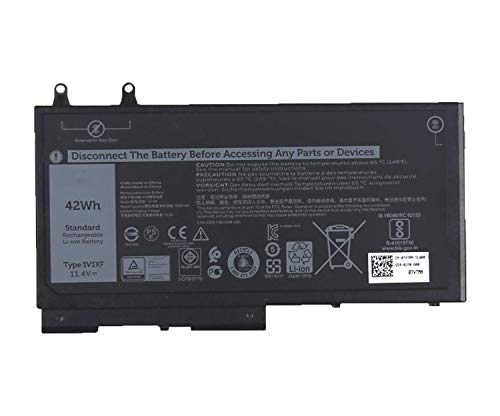 Onlyguo 11.4V 42Wh 3500mAh 1V1XF 07VTMN 7VTMN Laptop Battery Replacement for Dell Latitude 5400 5410 5500 5510 Precision 3540 3550 Series Notebook