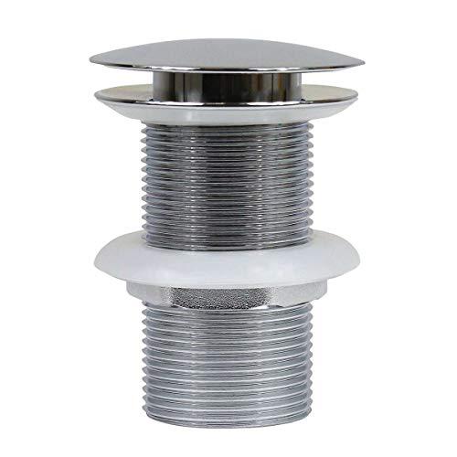 FBA PopUp Abflussventil Ablauf für Waschbecken Ohne Überlauf Abflussverschluss Küche Bad Ventil Nr.1