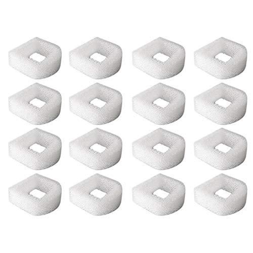 Bascar Filterschwamm Reinigen Schaumfilter für Drinkwell Edelstahl 360, Lotus Avalon und Pagode Wiederverwendbare waschbare Kissen Schwimmbadfilter Leichtes und weiches Design 16PCS