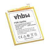 vhbw Li-Polymer Akku 3100mAh (3.8V) passend für Handy