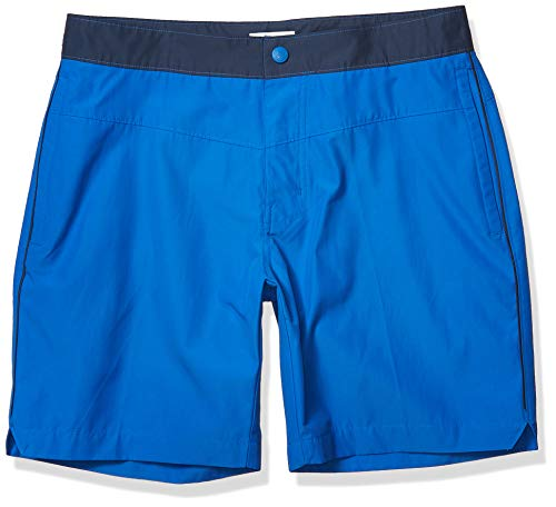 Columbia Men's Lakedale Cove Swim Short, Stormy Blue, 30