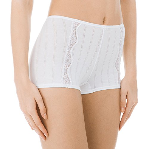 Calida Damen Panties Etude Toujours Panty 24192, Gr. 38 (Herstellergröße: M), Weiß (Weiss 001)