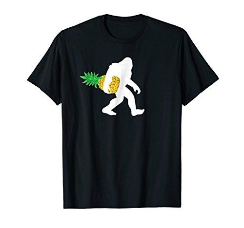 Bigfoot Carrying Pineapple Shirt, Funny Cute Sasquatch Gift