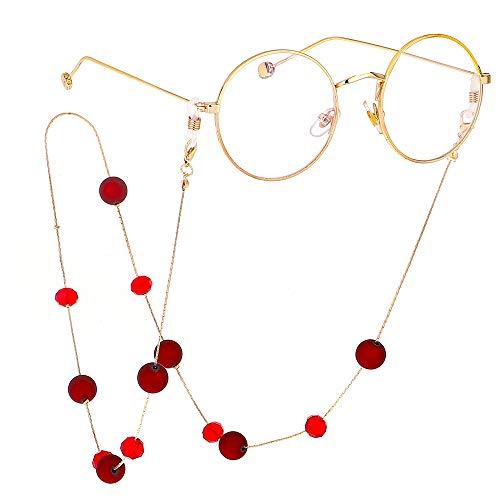 Cadena de gafas de Moda Personalidad Anteojos Correa de cadena Gafas de...