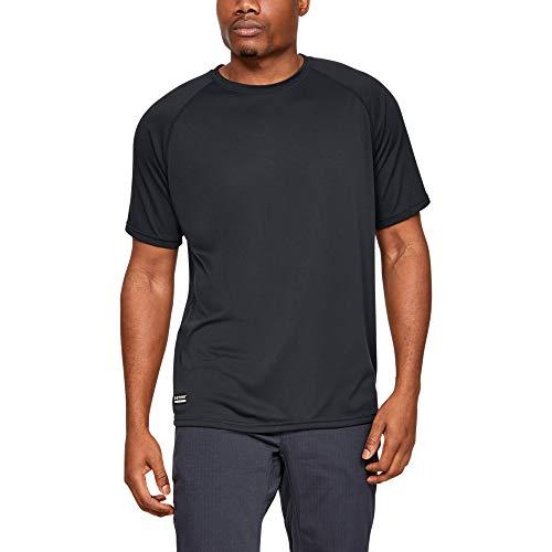 Under Armour Tactical Tech T-Shirt de Sport Respirant et à séchage Rapide pour Homme avec Technologie brevetée Anti-Odeur - Bleu - XX-Large