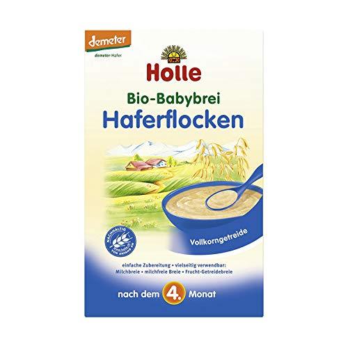 Holle Bio Bio-Babybrei Haferflocken (6 x 250 gr)