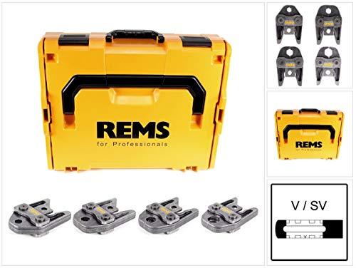 REMS Presszangen Set V15-18-22-28 im Systemkoffer L-Boxx (571166 R)