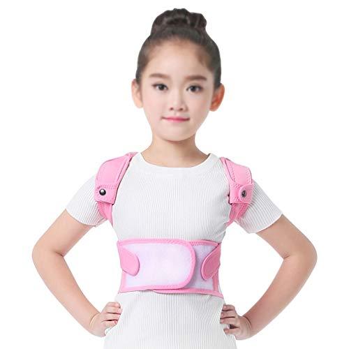 QARYYQ Cinturón de corrección jorobada para niños y niñas, Columna Vertebral, cinturón de corrección de la Postura de la Espalda, corrección de artefactos jorobados Soporte para la Espalda