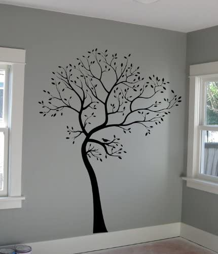 Digiflare Graphics Large Big Tree Wall Deco Decal St + Excellence Max 47% OFF Art Birds