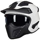 ILM Open Face Motorcycle 3/4 Half Helmet for Moped ATV Cruiser Scooter DOT...