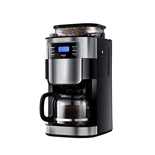 HIZLJJ Single Serve Kaffeemaschine Brew und Schaum for Cappuccino und Latte Kaffeevollautomat Haushaltsklein Kaffeemaschine for Gewerbe Schleifmaschine Intelligent Kochen Kaffeemaschine
