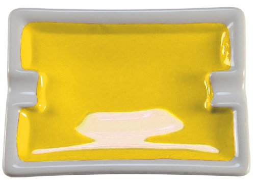 Blockx Yellow Giant Pan Watercolor in Real Ceramic Refillable Pan