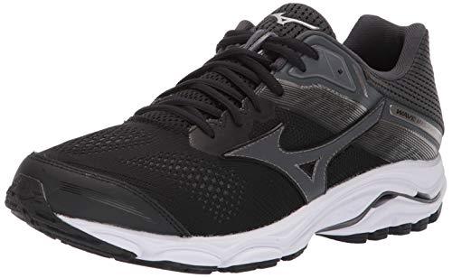 Mizuno Men's Wave Inspire 15 Running Shoe, Black-Dark Shadow, 6 UK