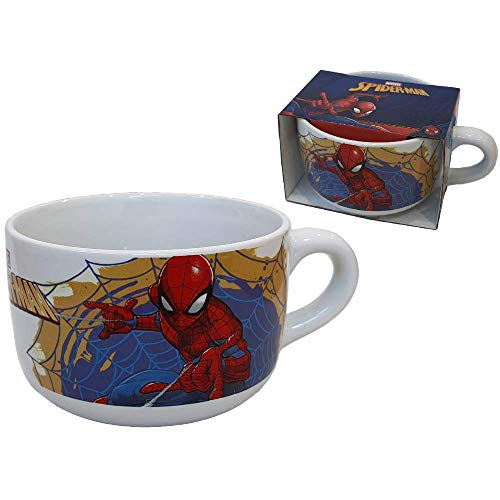 CARTOON GROUP Taza larga Jumbo Spiderman Marvel de cerámica en caja regalo – M00418MC