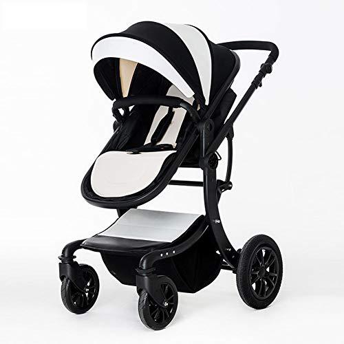 Cochecito De Bebé Alto Paisaje Cuatro Estaciones Amortiguador Plegable Puede Sentarse Y Reclinarse BB Trolley,C