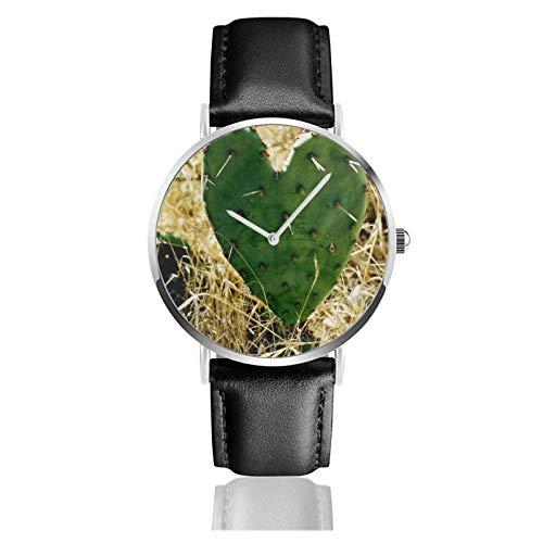 Orologio da Polso al Wrist Watch Analogue Quarzo con Cinturino in PU Watches Amore Cactus