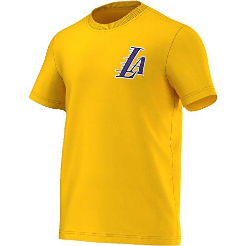 adidas FNWR tee - Camiseta para Hombre, Color Azul/Blanco/Naranja, Talla 2XL