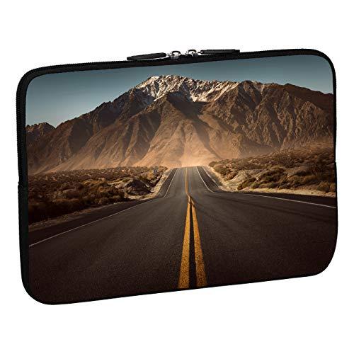 PEDEA Design Schutzhülle Notebook Tasche bis 15,6 Zoll (39,6cm), Highway