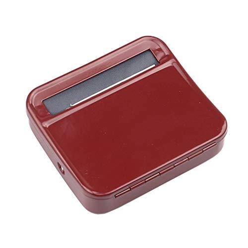 YYSSLL Caja de metal portátil para rodar cigarrillos, rodillo de fumar y almacenamiento