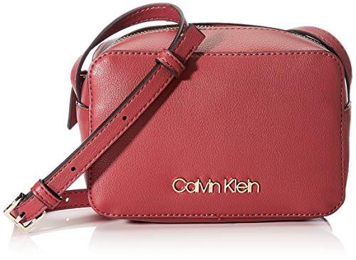 Calvin Klein Damen Ck Must Psp20 Camerabag Umhängetasche, Rot (Tibetan Red), 7x12x18 Centimeters