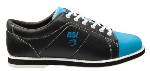 BSI Women's Classic  Bowling Shoe, Black/Blue, 7.5