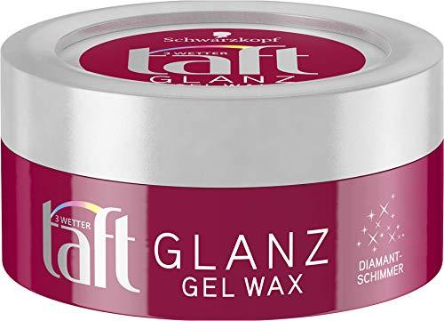 Schwarzkopf 3 Wetter taft Gel-Wax Glanz ultra starker Halt 4,5er Pack (5 x 75 ml)