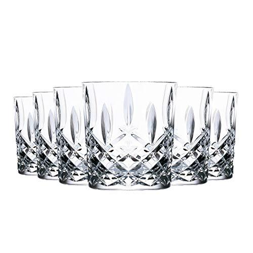 RCR Cristallo Orchestra Bicchiere di Cristallo DOF Doppio Whisky Old Fashioned Occhiali Bicchieri Set - 340ml - Confezione da 6