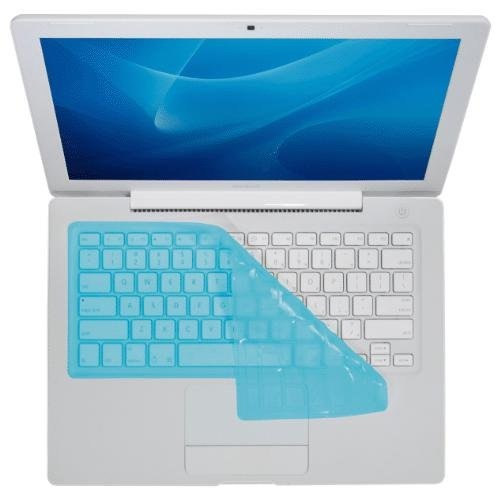 KB Covers Keyboard Cover for MacBook Pro/Air, Blue Aqua (CV-M-Blue)