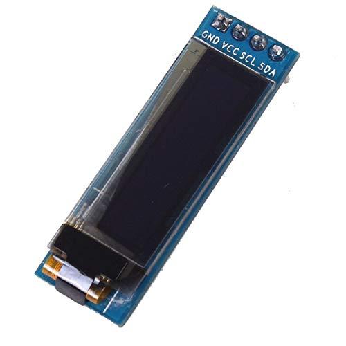 Cosye Iic I2c 0.91' 128 x 32 White Oled Lcd Display Module 3.3v 5v For Arduino Pic 0.91 Inch Display Module White