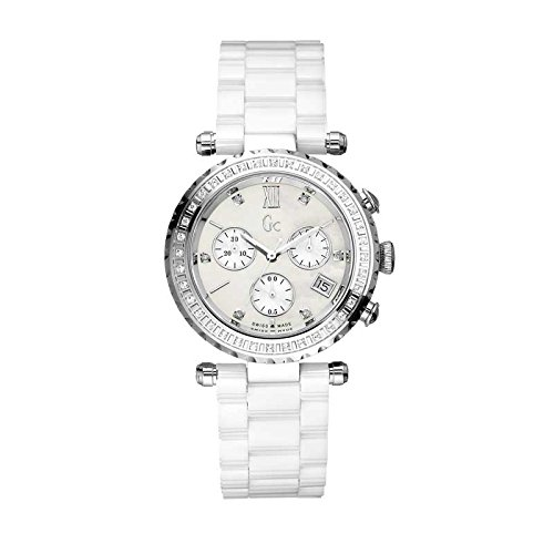 GC by Guess Damenuhr Precious Collection Diver Chic Chronograph I01500M1