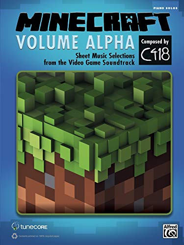 MINECRAFT VOLUME ALPHA   |  Klavier  |  Buch