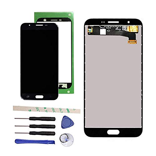 Draxlgon Galaxy J7 Prime 2017 Assembly Replacement for J727 J727A SM-J727T J727T1 J727V J727P SM-J727VL J7 2017 Perx 5.5' 100% Tested LCD Display Touch Screen Digitizer (Black)
