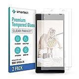 smartect Schutzglas kompatibel mit Sony Xperia Z5 [2 Stück] - Tempered Glass mit 9H Festigkeit - Blasenfreie Schutzfolie - Anti-Kratzer Bildschirmschutzfolie
