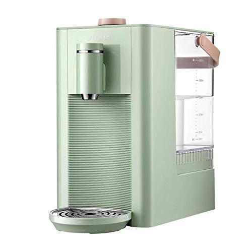 WJSW Heißwasserspender Haushalt Desktop Wasserspender Smart Wasserspender Baby Milchpulver Maschine, 2.6L Wassertank (Farbe: Grün, Größe: 31 * 28 * 17.7cm)