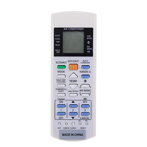 Meijin Interruptor de control remoto para aire acondicionado ECONAVI Inverter NANOE-G A75C3300/3208