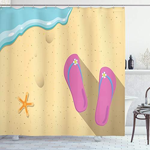 Pinky Beach Thong and Starfish