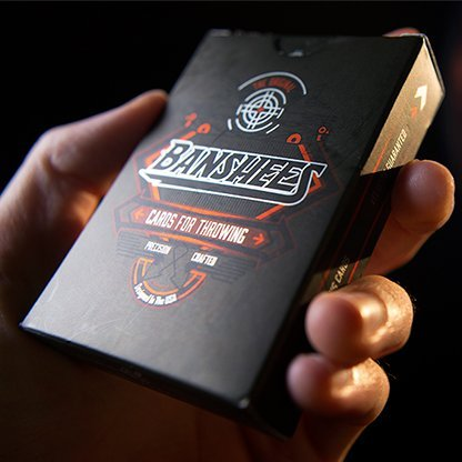 Murphy Banshees: Cards for Throwing Playing Cards (Advanced Edition) Banshee V2 Deck