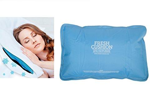 Oramics Komfort Kissen mit Kühlfunktion - Kühlkissen 52x34 cm für tiefen entspannten Schlaf