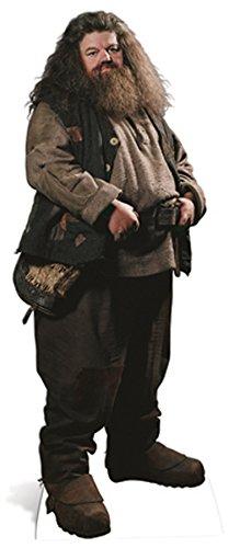 partyman.co.uk Cradboard Hagrid 195 cm, diseño de Silueta de despiece de tamaño Real