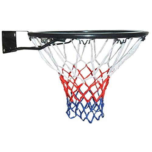 GAO-bo 45cm sólido montado en la pared canasta de baloncesto aro de color neto de expansión Tornillo Heavy Duty montaje en la pared del soporte del baloncesto for adultos niños al aire libre de interi